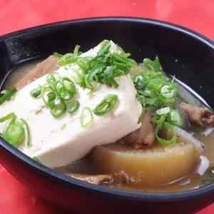 おつまみにぴったり肉豆腐の画像