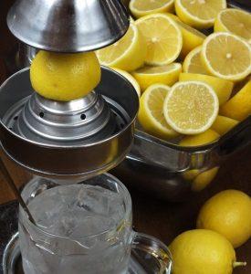 生絞りレモンサワーの画像