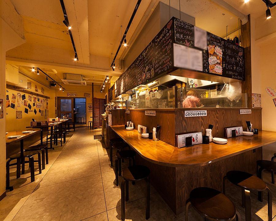 博多でお一人様でも気軽に立ち寄れる居酒屋【博多ホームラン食堂】